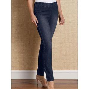 Women's Soft Surroundings Denim Metro Leggings XL